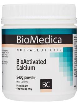 BioMedica BioActivated Calcium 240g