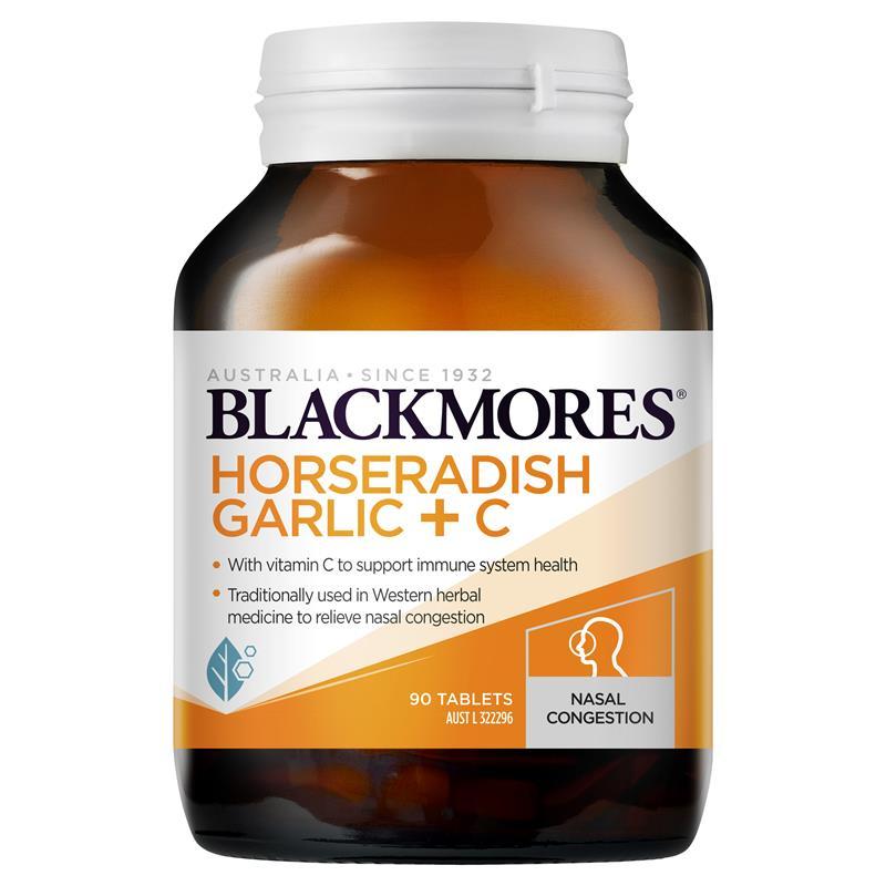 Blackmores Horseradish Garlic + C 50T