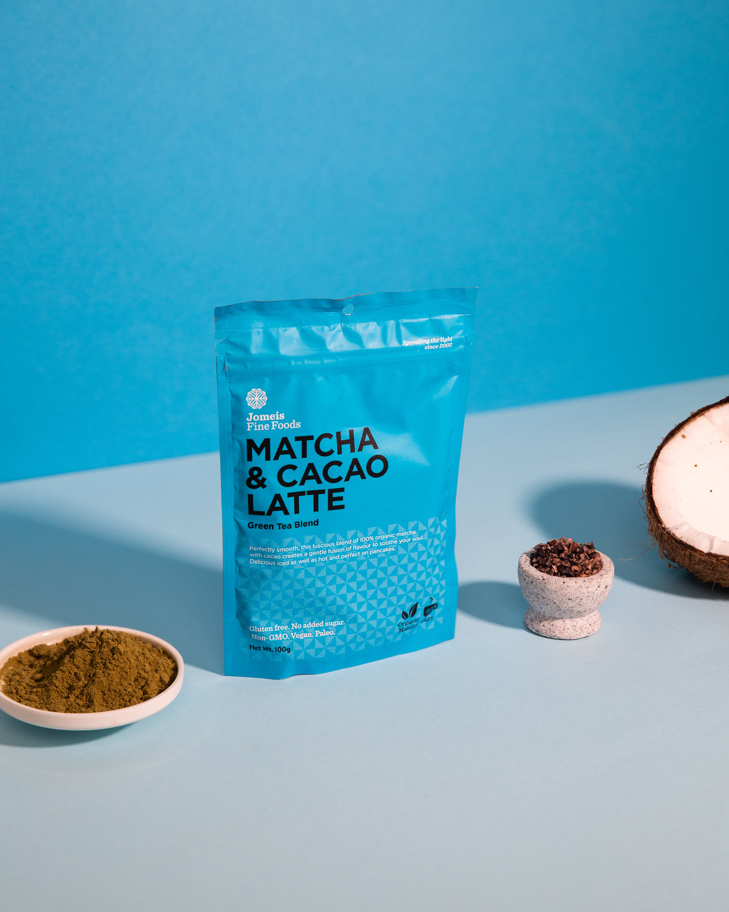 Jomeis - Matcha and Cacao Latte