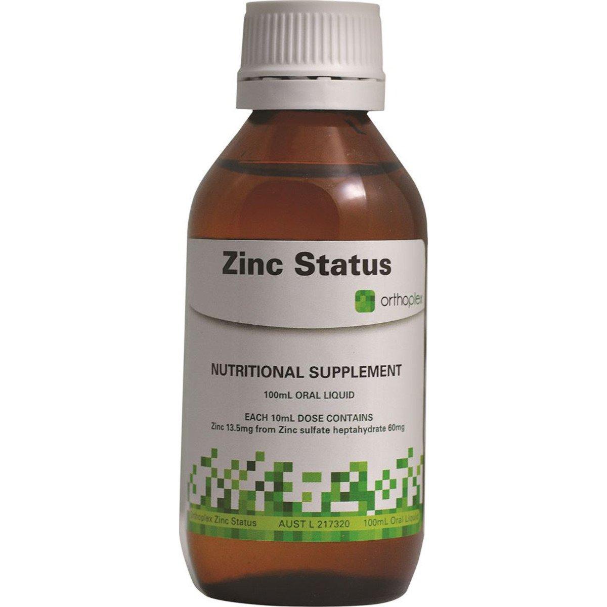 Orthoplex Zinc Status 100ml