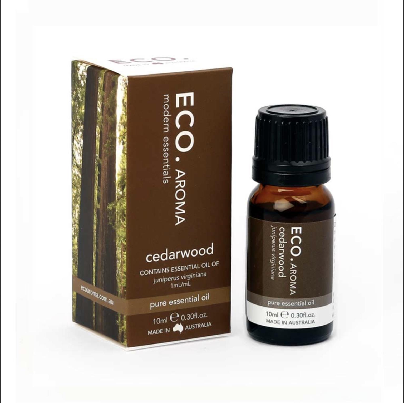 Eco Modern Essentials Oils 10ml - Cedarwood
